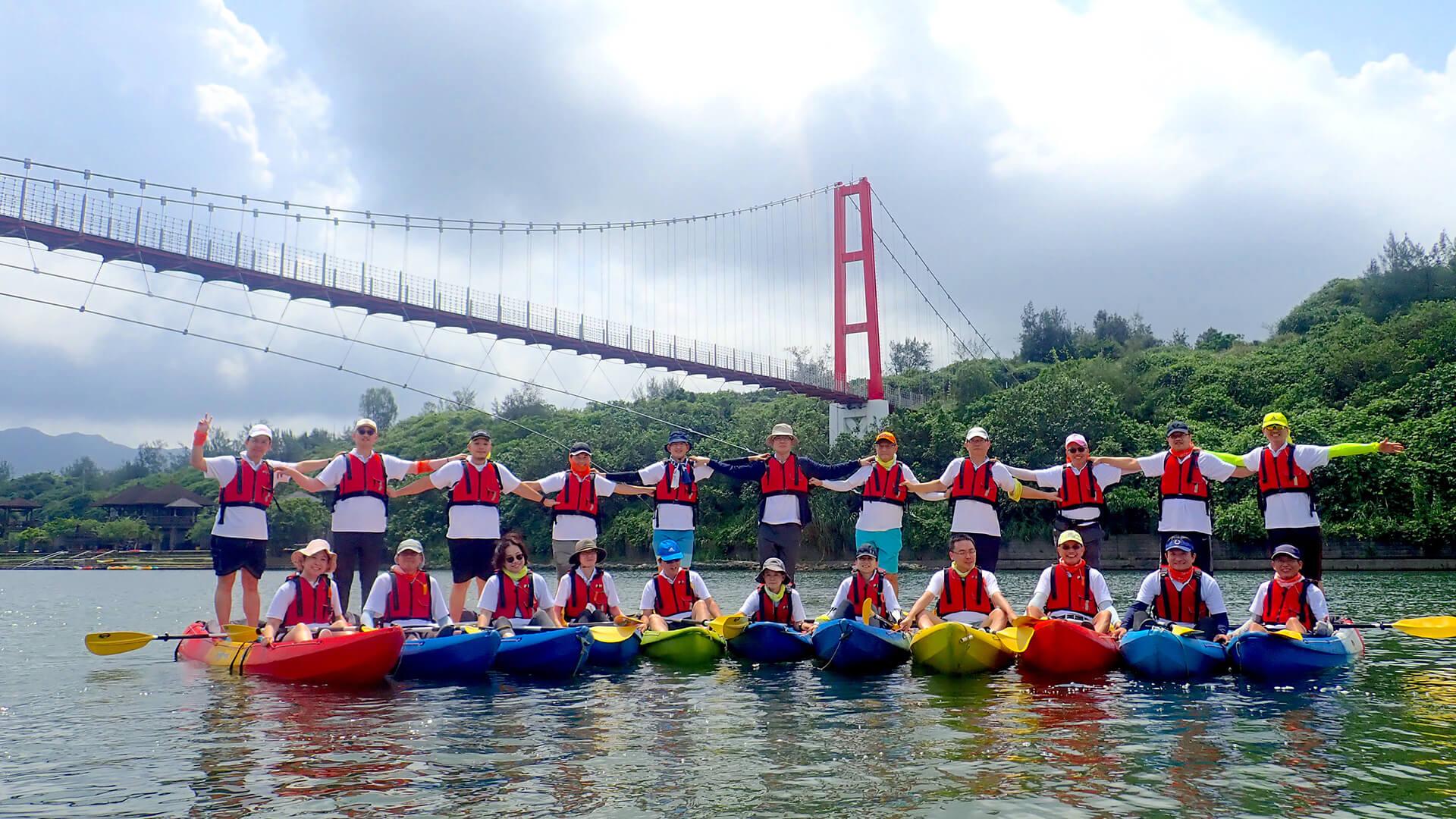 獨木舟 – 團隊合作 的嶄新玩法!