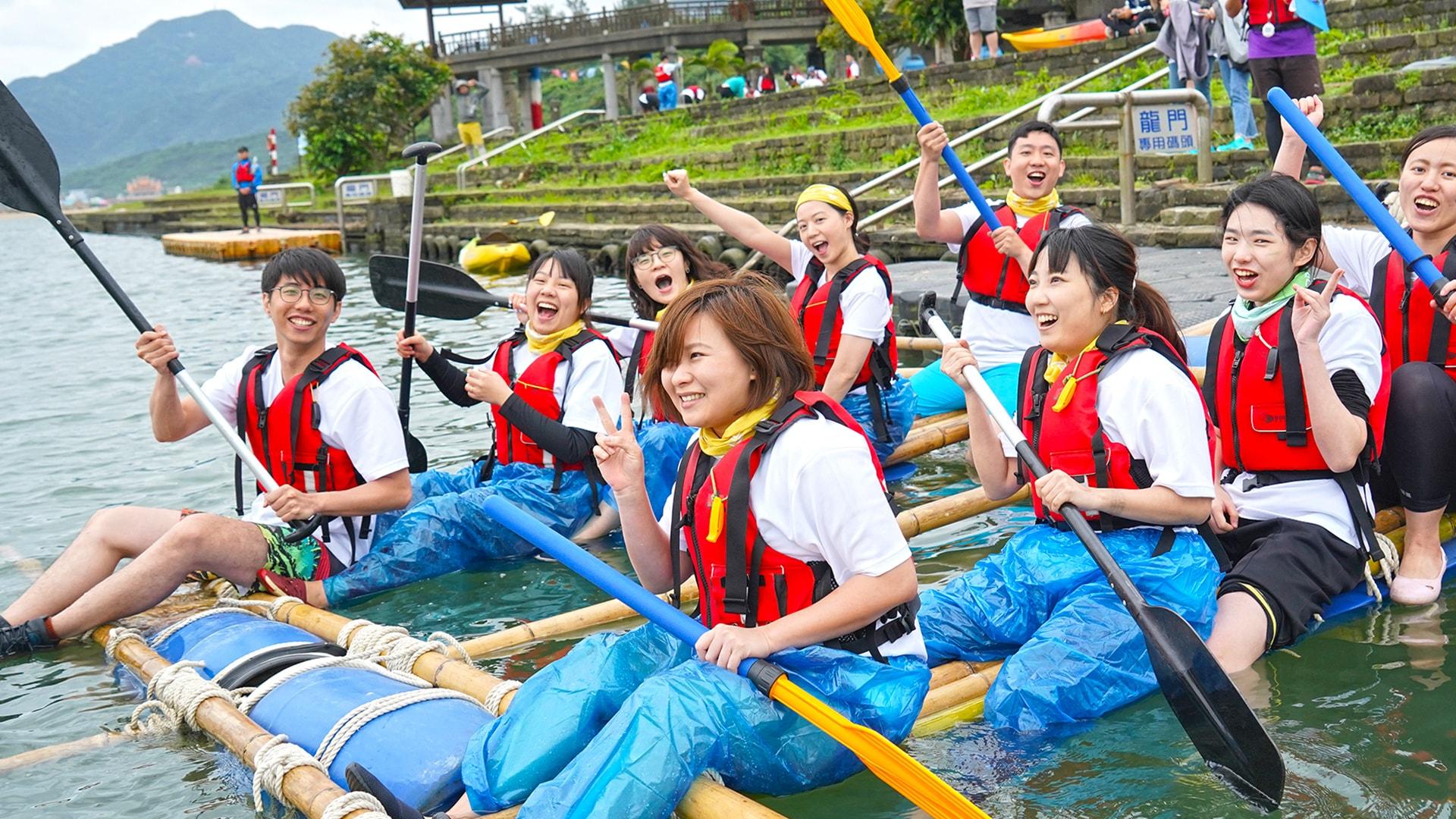 自力造筏 – 團隊凝聚的最佳途徑