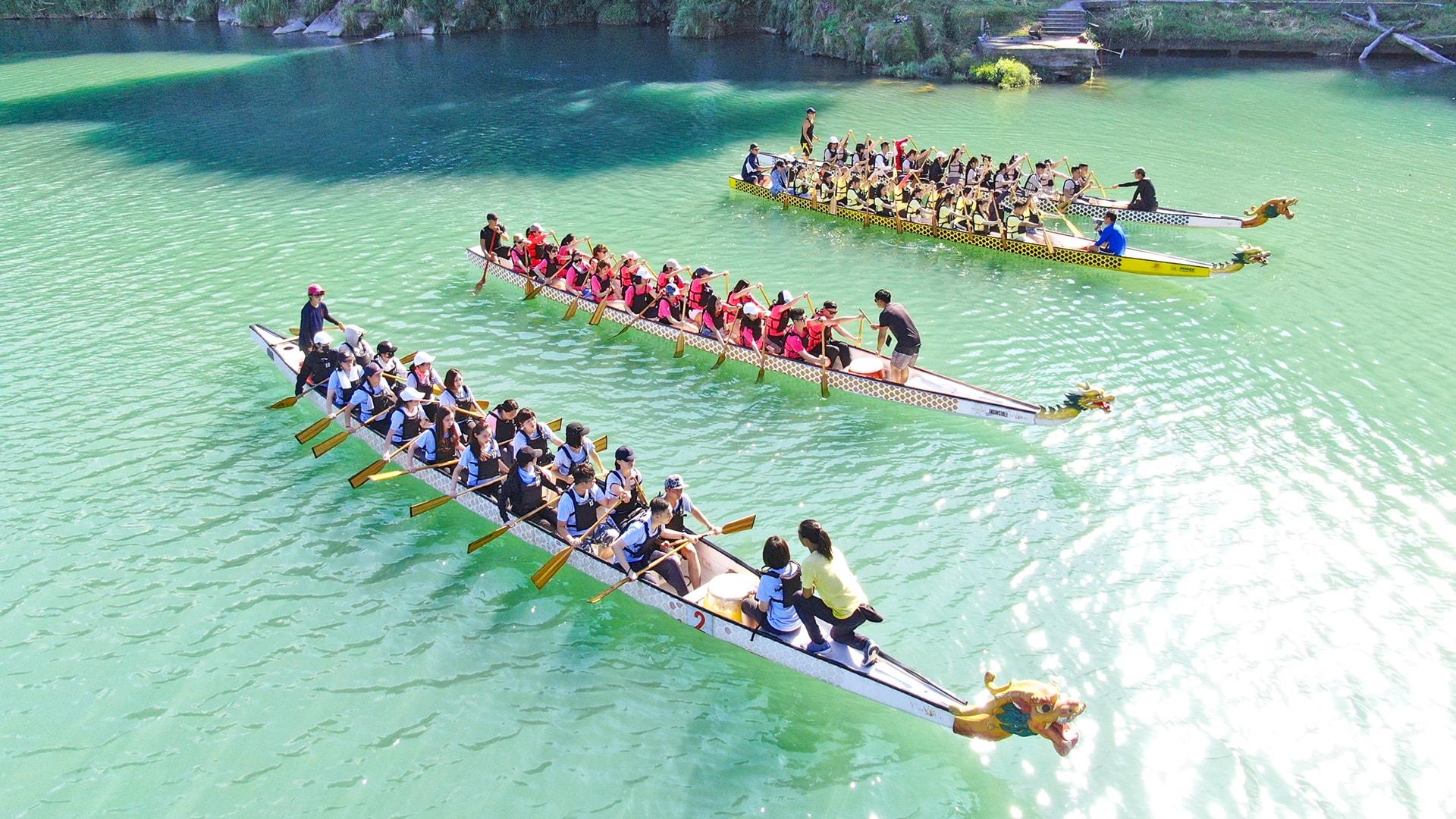 划龍舟 – 划出團隊革命情感