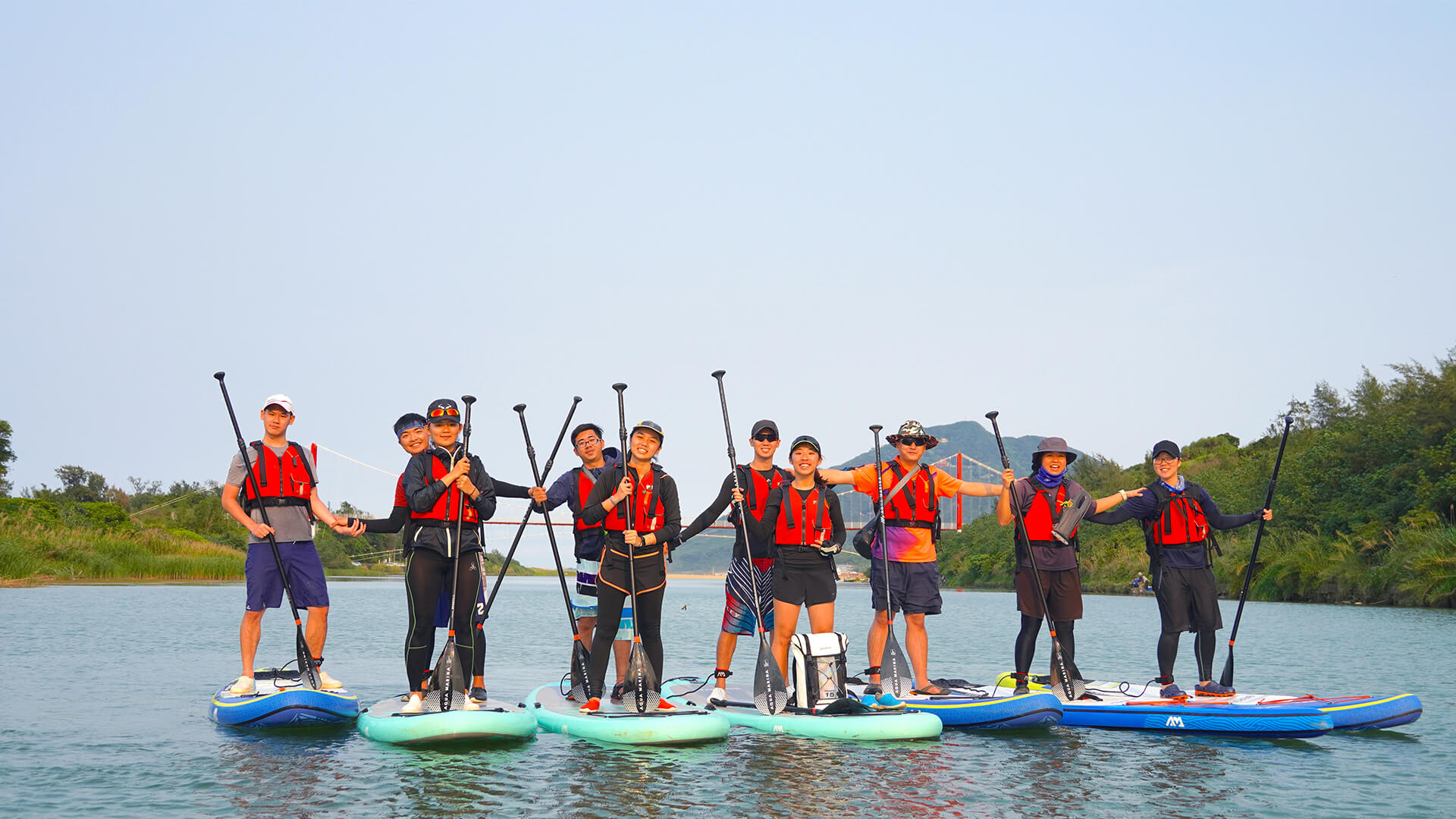 SUP立槳 – Stand up paddle!